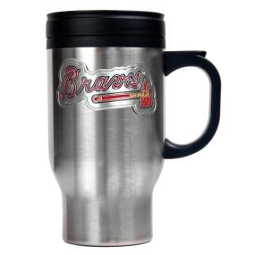 Atlanta Braves Stainless Steel Travel Mug