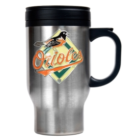 Baltimore Orioles Stainless Steel Travel Mug
