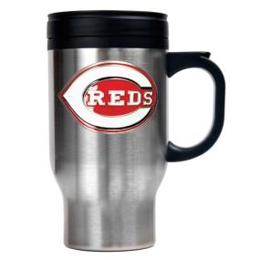 Cincinnati Reds Stainless Steel Travel Mug