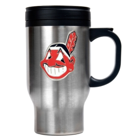 Cleveland Indians Stainless Steel Travel Mug