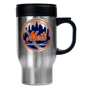 New York Mets Stainless Steel Travel Mug