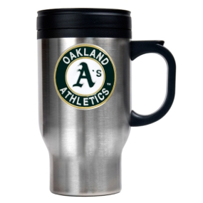 Oakland A's Stainless Steel Travel Mug
