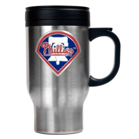 Philadelphia Phillies Stainless Steel Travel Mug