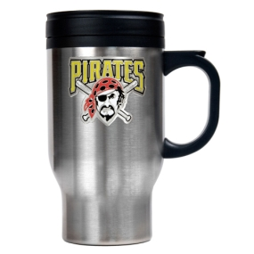 Pittsburgh Pirates Stainless Steel Travel Mug