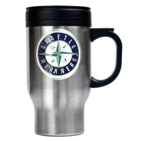 Seattle Mariners Stainless Steel Travel Mug