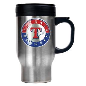 Texas Rangers Stainless Steel Travel Mug
