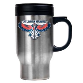 Atlanta Hawks Stainless Steel Travel Mug