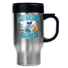 New Orleans Hornets Stainless Steel Travel Mug