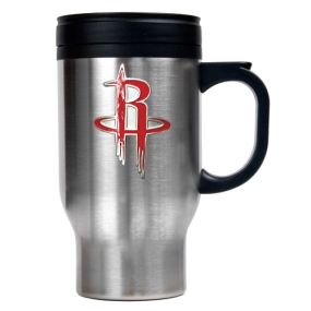Houston Rockets Stainless Steel Travel Mug