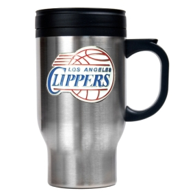 Los Angeles Clippers Stainless Steel Travel Mug