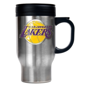 Los Angeles Lakers Stainless Steel Travel Mug