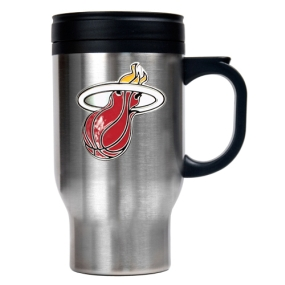 Miami Heat Stainless Steel Travel Mug