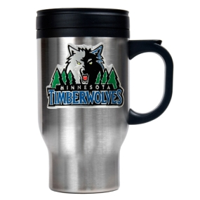 Minnesota Timberwolves Stainless Steel Travel Mug