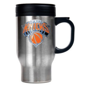 New York Knicks Stainless Steel Travel Mug