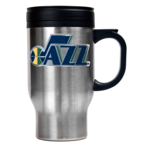 Utah Jazz Stainless Steel Travel Mug