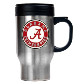 Alabama Crimson Tide 16oz Stainless Steel Travel Mug