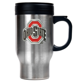 Ohio State Buckeyes 16oz Stainless Steel Travel Mug