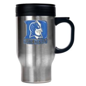 Duke Blue Devils 16oz Stainless Steel Travel Mug