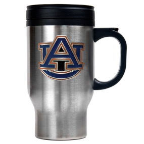 Auburn Tigers 16oz Stainless Steel Travel Mug