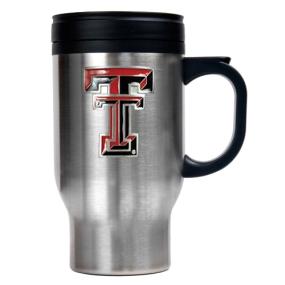 Texas Tech Red Raiders 16oz Stainless Steel Travel Mug