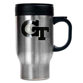 Georgia Tech Yellow Jackets 16oz Stainless Steel Travel Mug