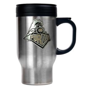 Purdue Boilermakers 16oz Stainless Steel Travel Mug