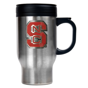 N.C. State Wolfpack 16oz Stainless Steel Travel Mug