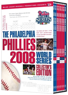 2008 Philadelphia Phillies World Series DVD Collection