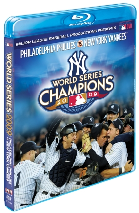 New York Yankees 2009 World Series Highlights Blu-Ray