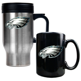 Philadelphia Eagles Travel Mug & Ceramic Mug set
