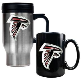 Atlanta Falcons Travel Mug & Ceramic Mug set