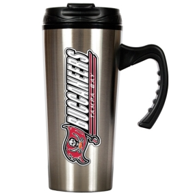 Tampa Bay Buccaneers 16oz Stainless Steel Travel Mug