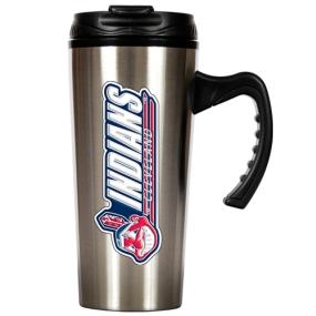 Cleveland Indians 16oz Stainless Steel Travel Mug