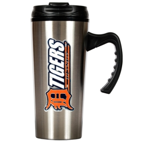 Detroit Tigers 16oz Stainless Steel Travel Mug