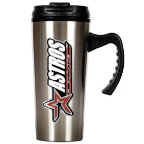 Houston Astros 16oz Stainless Steel Travel Mug