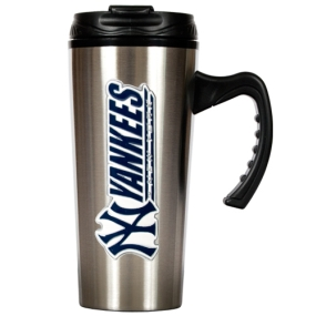 New York Yankees 16oz Stainless Steel Travel Mug