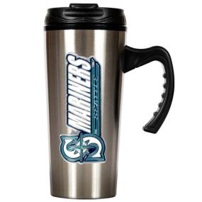 Seattle Mariners 16oz Stainless Steel Travel Mug