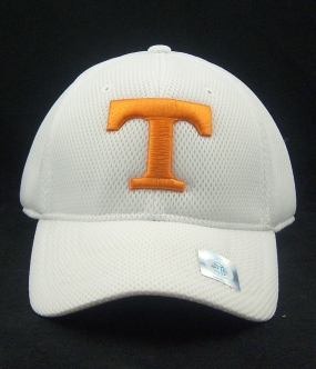 Tennessee Volunteers White Elite One Fit Hat