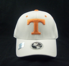 Tennessee Volunteers White One Fit Hat