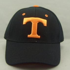 Tennessee Volunteers Black One Fit Hat