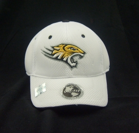 Towson Tigers White Elite One Fit Hat