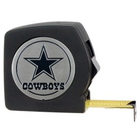 Dallas Cowboys 25' Black Tape Measure