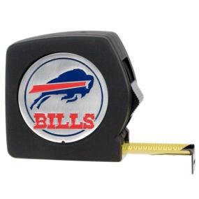 Buffalo Bills 25' Black Tape Measure