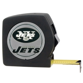 New York Jets 25' Black Tape Measure