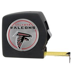 Atlanta Falcons 25' Black Tape Measure