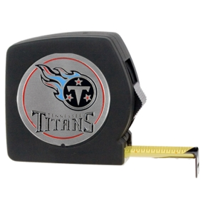 Tennessee Titans 25' Black Tape Measure