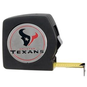 Houston Texans 25' Black Tape Measure