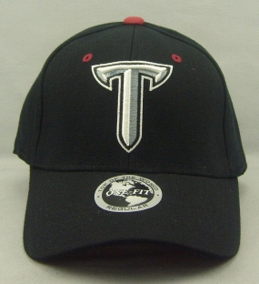 Troy Trojans Black One Fit Hat