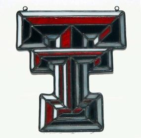 Texas Tech Red Raiders Suncatcher