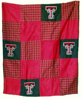 Texas Tech Red Raiders Quilt